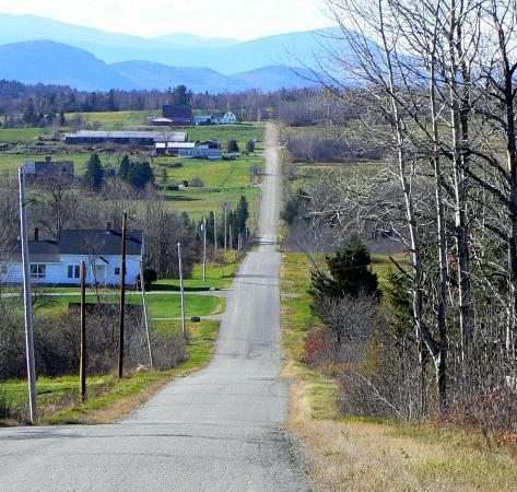 Patten, Maine: Happy Corner Road, Patten