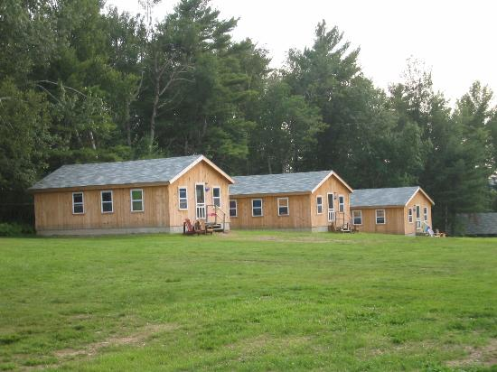 Medomak Camp and Retreat Center: Cabins are clean and roomy