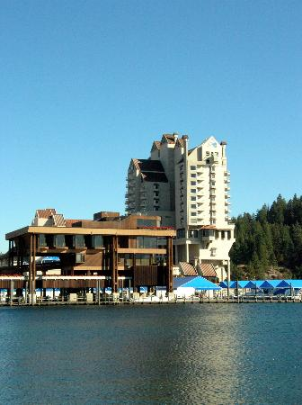 The Coeur d'Alene Resort: The resort