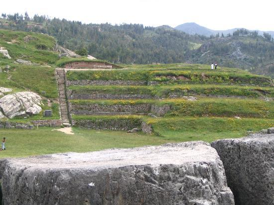 Cusco, Peru: Terraces at Sacsayhuaman