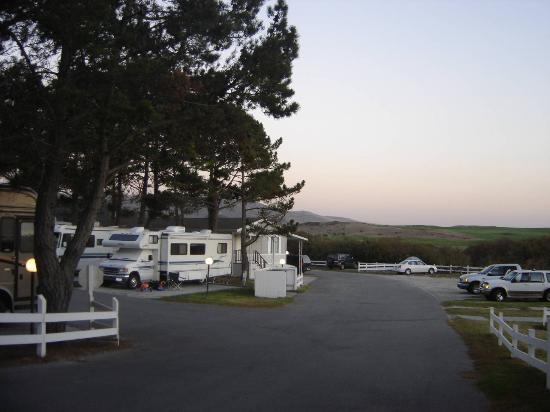 Pelican Point RV Park: Spot 56 - Great Golf/Ocean Views