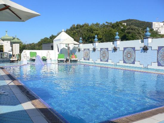 Terme Manzi Hotel & Spa: The beautiful thermal roof top pool