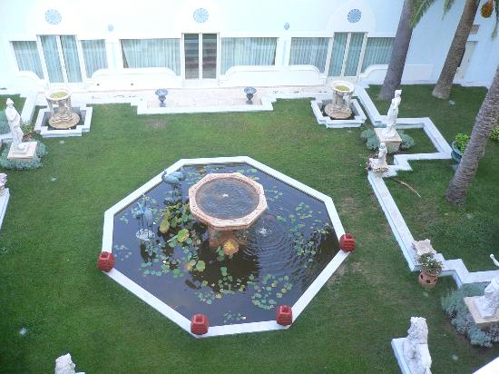Terme Manzi Hotel & Spa: The landscaped gardens from our room