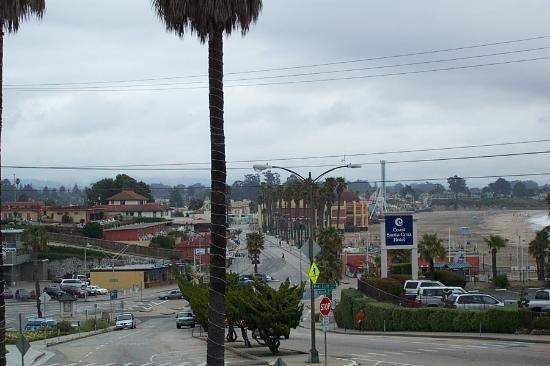 the view from our room picture of seaway inn santa cruz. Black Bedroom Furniture Sets. Home Design Ideas