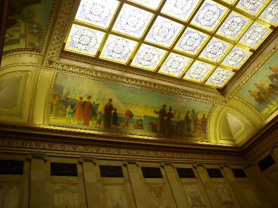 Madison, WI: ceiling