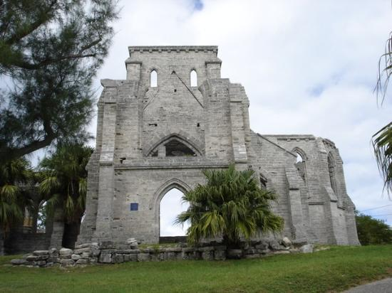 Islas Bermudas: Unfinished Church, Bermuda