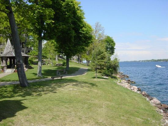 Alexandria Bay, NY: Views on the Boldt Castle Island