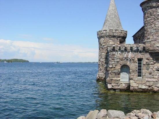 Alexandria Bay, Nowy Jork: Views on the Boldt Castle Island