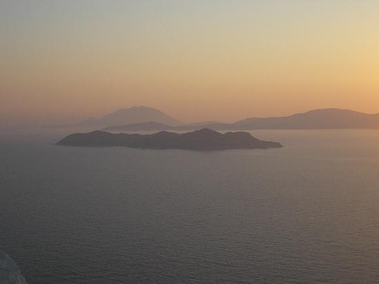 Kritinia Castle: view of the islands