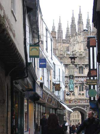 View of Canterbury Cathedral