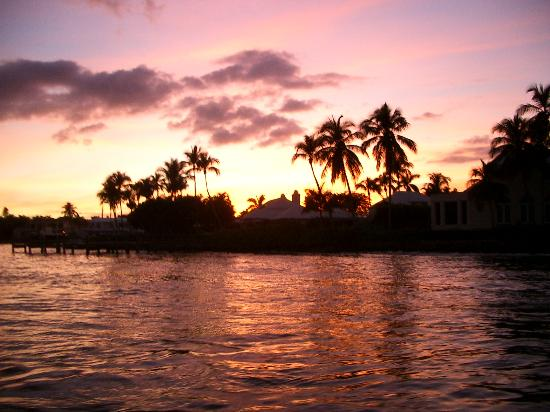 Naples, FL: sunset gordon river