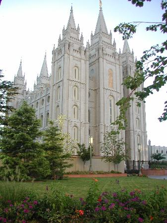 Salt Lake Temple: salt lake city