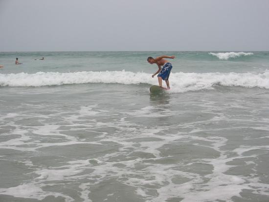 Famara Beach: Surf dude