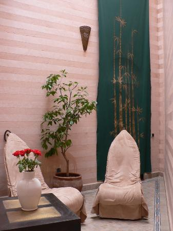 Riad Dar Anika: Private Patio