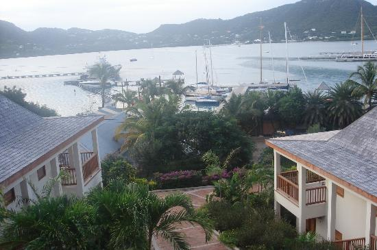 Antigua Yacht Club Marina Resort: view from my suite