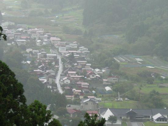 Yamagata Prefecture, Japon: Mountain village near Yamadera