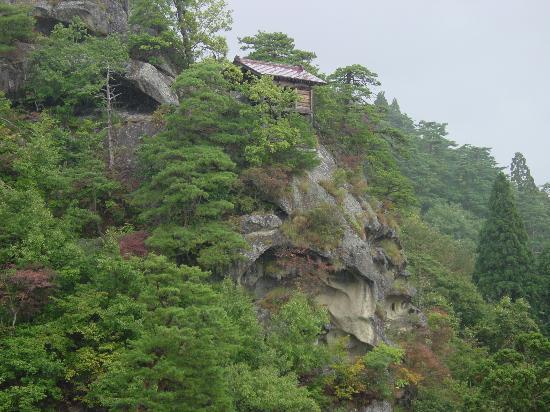 Mountain temple in Yamagata Prefecture
