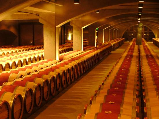 Barrels Of Wine In The Jpg