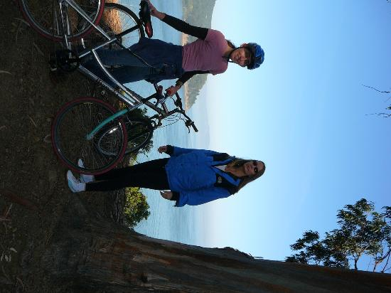 Angel Island State Park: Bikes are $10 per hour on the island; the ride around the island is tiring but worth it!