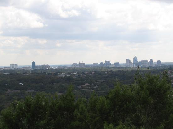Austin Skyline from atop Mount Bonnell
