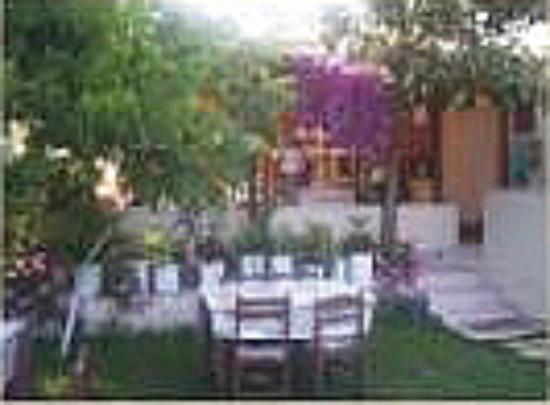 Akay Pension: garden from Akay Hotel