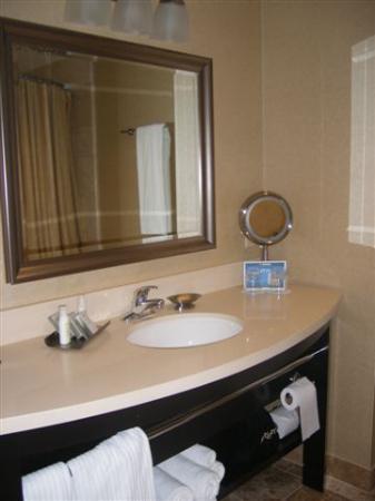 West Inn & Suites Carlsbad: vanity area