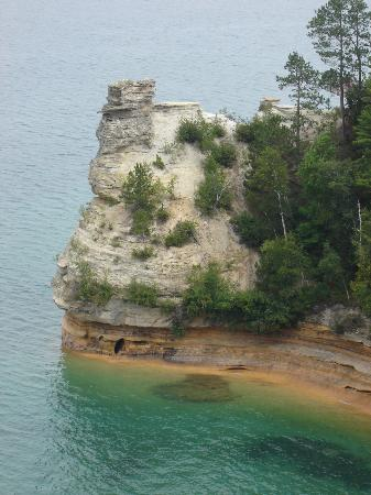 Pictured Rocks National Lakeshore : Miners Castle