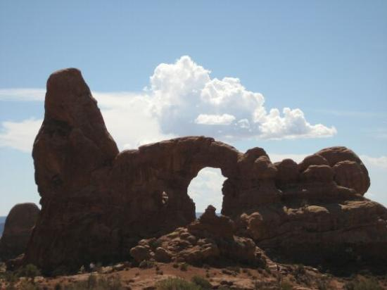 ยูทาห์: arch canyon national park