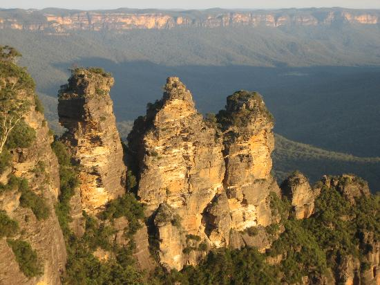 New South Wales, Austrália: Three sisters