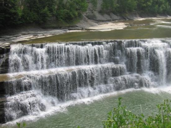 Castile, estado de Nueva York: Natural beauty and waterfalls