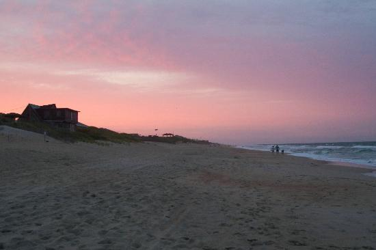 beautiful outer banks sunset