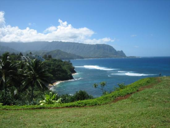 Marc at Princeville Pali Ke Kua: Day View from the Lanai
