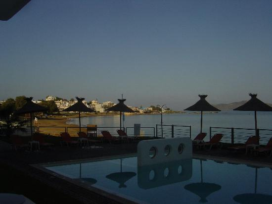Ammos Hotel: View from our patio