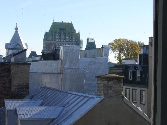 Manoir de L'Esplanade: View from room window