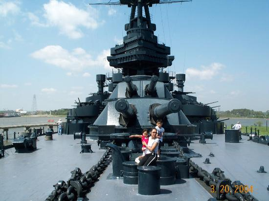 Battleship Texas - Picture of Battleship Texas State Historic Site ...