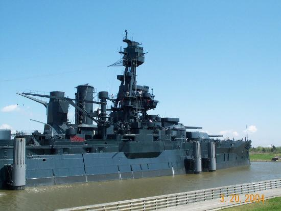 Battleship texas state historic site la porte anmeldelser for How far is la porte tx from houston tx