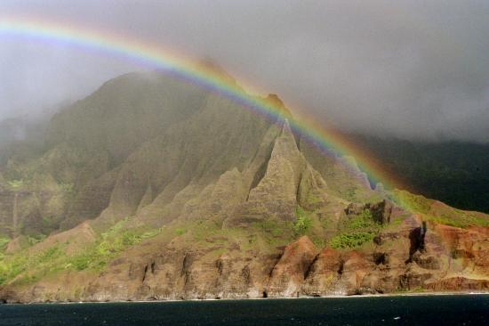 Kauai, HI: Kaiau Rainbow2