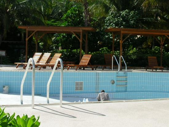 Peter Island Resort and Spa: empty pool