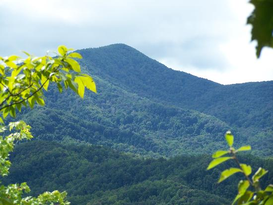 Gatlinburg, Τενεσί: Another shot of the Great Smoky Mountains