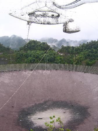 Arecibo, Puerto Rico: The Antenna