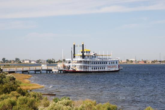 Galveston, TX : Colonel Paddlewheel Boat