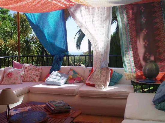 Casa la Concha: The pleasant lounge with sea views