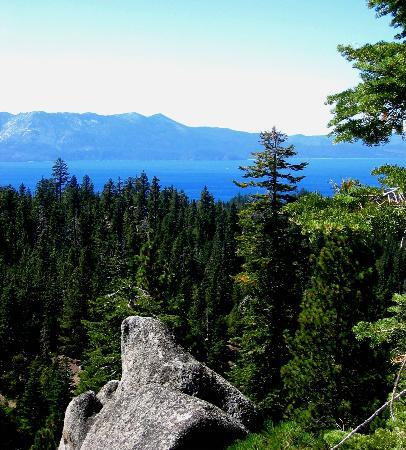 Lake Tahoe: In the mountains