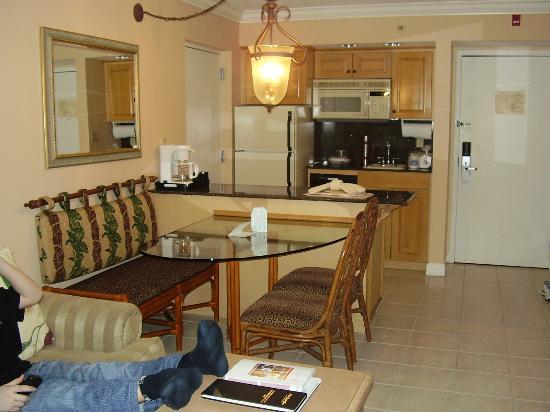 Palm Beach Shores Resort and Vacation Villas : coin repas