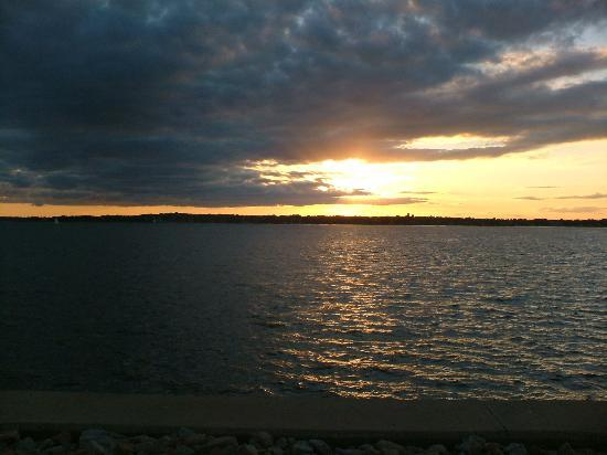 Newport, RI: Sunset from Goat Island