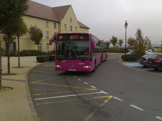 Kyriad Hotel Disneyland Paris Shuttle Bus