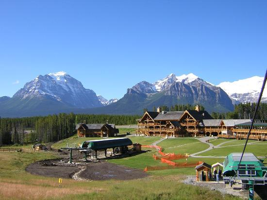 ski resort at Lake Louise