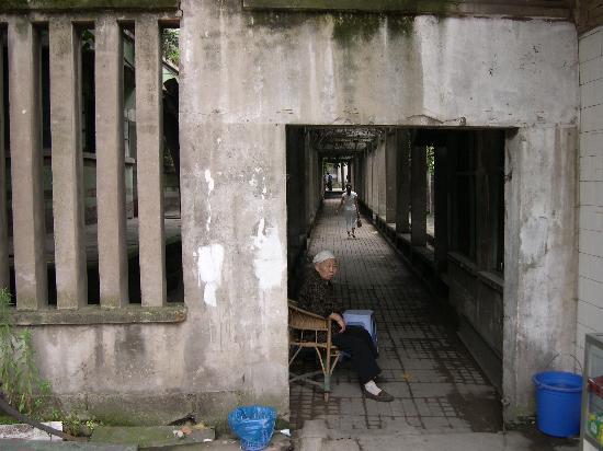 Chongqing, Çin: alley