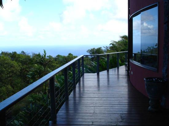 Hale Ohia: Ocean view from main house