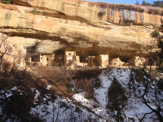 Parc national de Mesa Verde, CO : Mesa Verde
